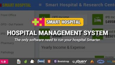 Photo of Smart Hospital v1.0 – Hastane Yönetim Sistemi Script İndir