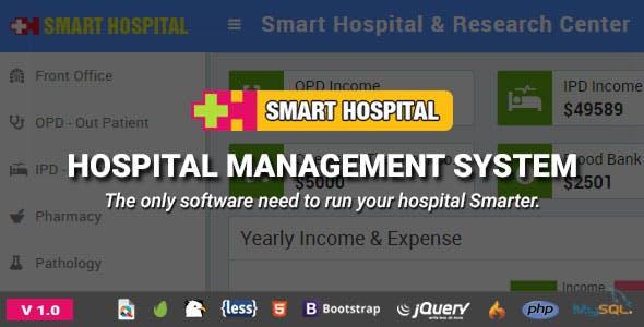 Smart Hospital v1.0 - Hastane Yönetim Sistemi Script İndir