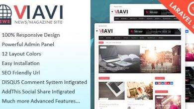 Photo of Viavi v1.0.3 – PHP Haber & Magazin & Blog Script İndir