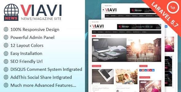 Viavi v1.0.3 - PHP Haber & Magazin & Blog Script İndir
