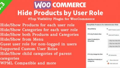 WooCommerce Hide Products v6.1 İndir