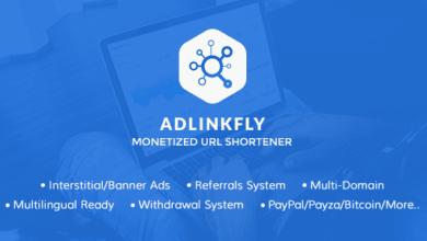 Photo of AdLinkFly v6.3.0 – Para Kazandıran URL Kısaltma Script İndir