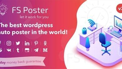 Photo of FS Poster v3.2.3 – WordPress Otomatik Poster ve Zamanlayıcı İndir