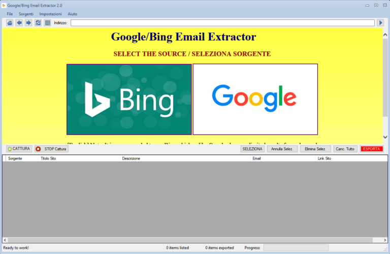 Google/Bing Email Extractor 4.2.0 + Patch İndir