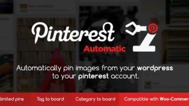 Photo of Pinterest Automatic Pin v4.14.1 Eklentisi İndir