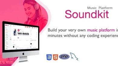 Photo of Soundkit v2.4.2 – Sosyal Müzik Paylaşma Script İndir