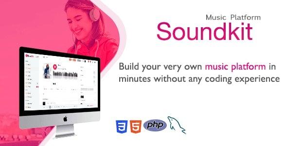 Soundkit v2.4.2 - Sosyal Müzik Paylaşma Script İndir