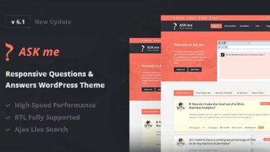 Photo of Ask Me v6.1 – WordPress Soru Cevap Teması İndir