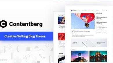 Photo of Contentberg Blog v1.7.1 – WordPress Blog Teması İndir