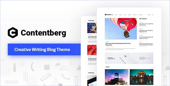 Contentberg Blog v1.7.1 - WordPress Blog Teması İndir