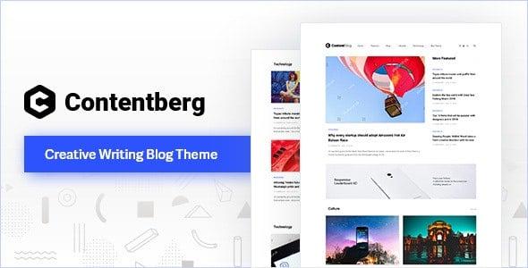 Contentberg Blog v1.7.1 - WordPress Blog Teması İndir