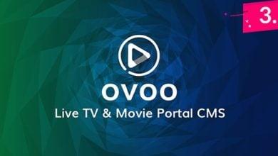 Photo of OVOO v3.1.2 – Canlı TV, Dizi ve Film Script İndir