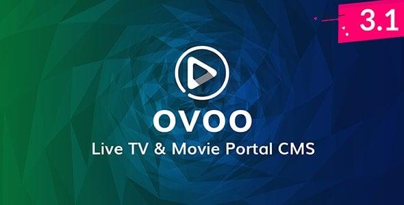 OVOO v3.1.2 - Canlı TV, Dizi ve Film CMS Script İndir