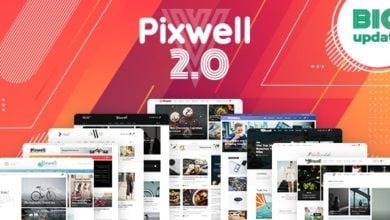 Photo of Pixwell v2.2 – Modern WordPress Teması İndir