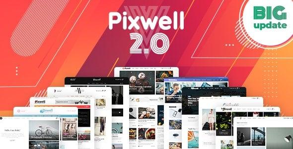 Pixwell v2.2 - Modern WordPress Teması İndir