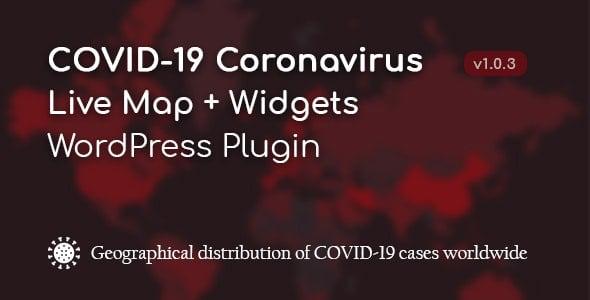 WordPress COVID-19 Corona Canlı Harita Eklentisi v1.0.3